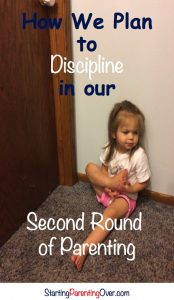 Read about positive discipline that works and discipline we are eliminating in our second round of parenting.