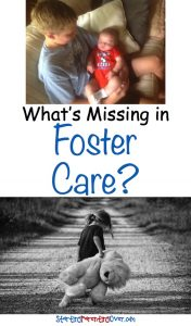 Have you ever thought about what it looks like when a new child enters a foster home? I hadn't either, until I was the mom of that foster home.