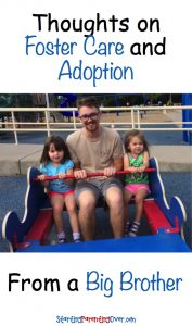 Wondering how foster care and adoption will affect your bio kids? Read these thoughts from my oldest son, regarding adopting two baby sisters just as he was turning 21.