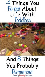Parenting toddlers is crazy! But if you look closely, you can find more good than bad.