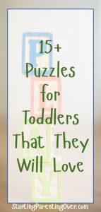 Puzzles for toddlers are an awesome way to develop critical thinking skills, problem solving, and fine motor skills. Check out this wonderful collection of the best puzzles for toddlers. 1 year olds, 2 year olds, and 3 year olds all love puzzles, and they don't even know how much they're learning!