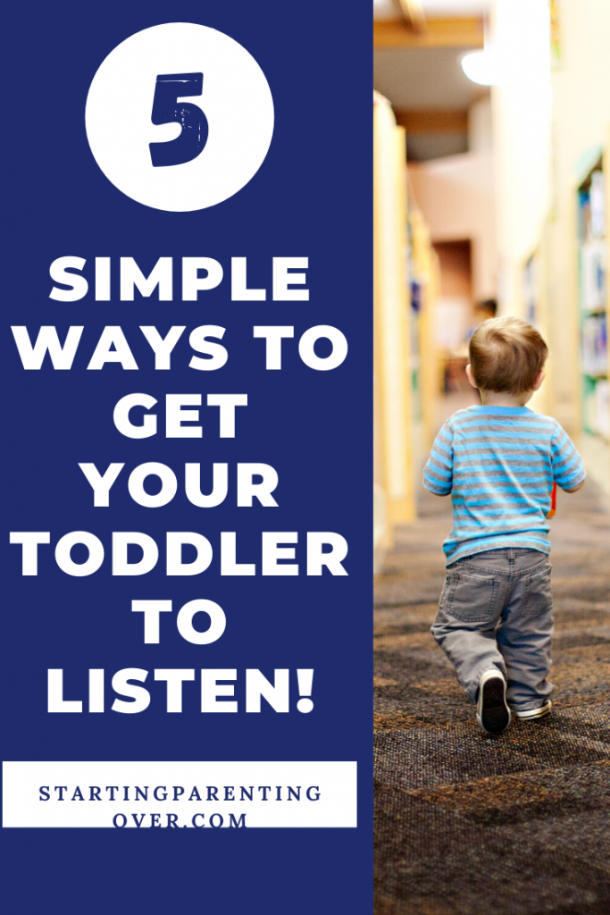 Parenting toddlers is a struggle. It seems no matter what you try, you just can't figure out how to get your toddler to listen. Try out these simple tips!